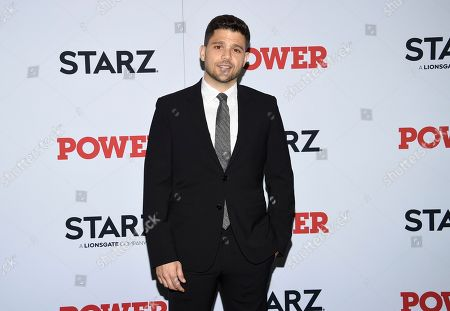 """Jerry Ferrara attends the world premiere of the final season of the Starz television series """"Power,"""" at Madison Square Garden, in New York"""