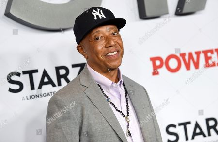 """Russell Simmons attends the world premiere of the final season of the Starz television series """"Power,"""" at Madison Square Garden, in New York"""