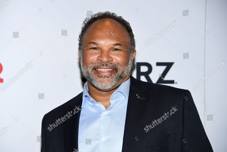 """Geoffrey Owens attends the world premiere of the final season of the Starz television series """"Power,"""" at Madison Square Garden, in New York"""