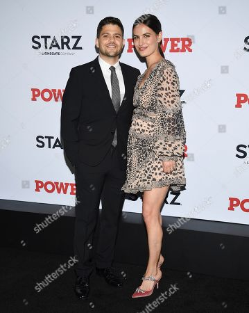 "Jerry Ferrara, Breanne Racano. Actor Jerry Ferrara, left, and Breanne Racano attend the world premiere of the final season of the Starz television series ""Power,"" at Madison Square Garden, in New York"