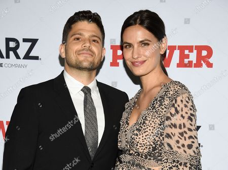 "Jerry Ferrara, Breanne Racano. Actor Jerry Ferrara, left, and Breanne Racano attend the world premiere of the Starz television series ""Power"" final season at Madison Square Garden, in New York"