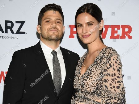 "Stock Picture of Jerry Ferrara, Breanne Racano. Actor Jerry Ferrara, left, and Breanne Racano attend the world premiere of the Starz television series ""Power"" final season at Madison Square Garden, in New York"