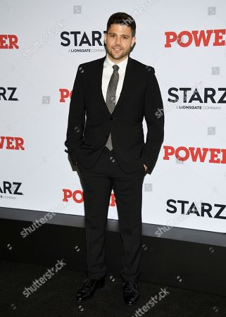 "Jerry Ferrara attends the world premiere of the Starz television series ""Power"" final season at Madison Square Garden, in New York"