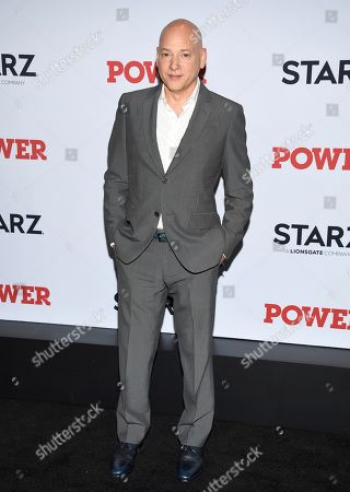 """Evan Handler attends the world premiere of the Starz television series """"Power"""" final season at Madison Square Garden, in New York"""