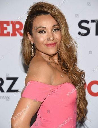 "Stock Photo of Leslie Lopez attends the world premiere of the Starz television series ""Power"" final season at Madison Square Garden, in New York"