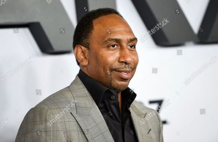 """Stephen A. Smith attends the world premiere of the Starz television series """"Power"""" final season at Madison Square Garden, in New York"""