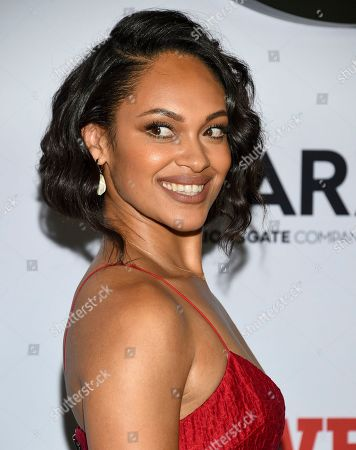"Stock Image of Cynthia Addai-Robinson attends the world premiere of the Starz television series ""Power"" final season at Madison Square Garden, in New York"