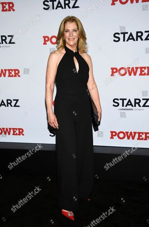 "Patricia Kalember attends the world premiere of the Starz television series ""Power"" final season at Madison Square Garden, in New York"