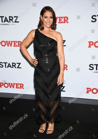 """Stock Image of Monique Gabriela Curnen attends the world premiere of the Starz television series """"Power"""" final season at Madison Square Garden, in New York"""