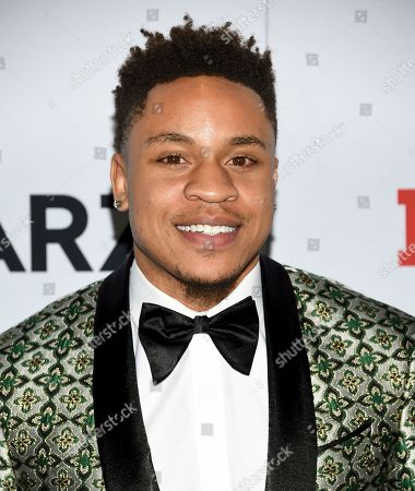 "Rotimi Akinosho attends the world premiere of the Starz television series ""Power"" final season at Madison Square Garden, in New York"