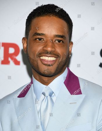 """Larenz Tate attends the world premiere of the Starz television series """"Power"""" final season at Madison Square Garden, in New York"""