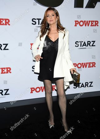 """Donna Murphy attends the world premiere of the Starz television series """"Power"""" final season at Madison Square Garden, in New York"""