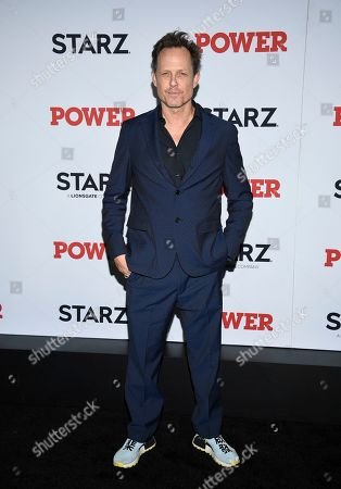 """Dean Winters attends the world premiere of the Starz television series """"Power"""" final season at Madison Square Garden, in New York"""
