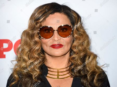 """Tina Knowles attends the world premiere of the Starz television series """"Power"""" final season at Madison Square Garden, in New York"""