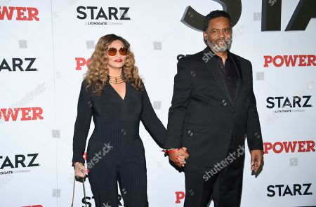 "Tina Knowles, Richard Lawson. Tina Knowles, left, and Richard Lawson attend the world premiere of the Starz television series ""Power"" final season at Madison Square Garden, in New York"