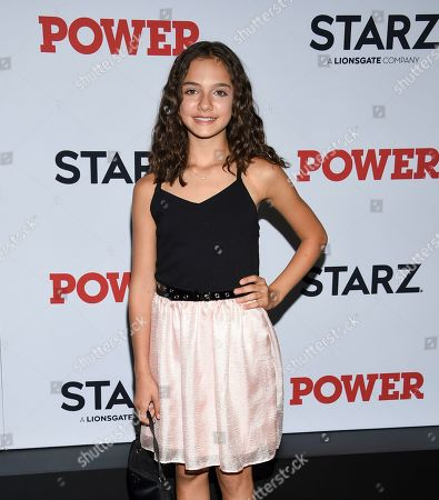 """Mattea Conforti attends the world premiere of the Starz television series """"Power"""" final season at Madison Square Garden, in New York"""
