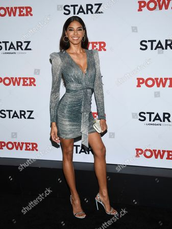 """Stock Image of Heidy De La Rosa attends the world premiere of the Starz television series """"Power"""" final season at Madison Square Garden, in New York"""