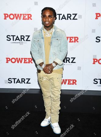"Jacquees attends the world premiere of the Starz television series ""Power"" final season at Madison Square Garden, in New York"