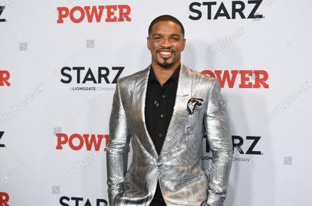 """Michael Ferguson attends the world premiere of the Starz television series """"Power"""" final season at Madison Square Garden, in New York"""