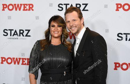 "Keili Lefkovitz, Shane Johnson. Actor Shane Johnson, right, and wife Keili Lefkovitz attend the world premiere of the Starz television series ""Power"" final season at Madison Square Garden, in New York"
