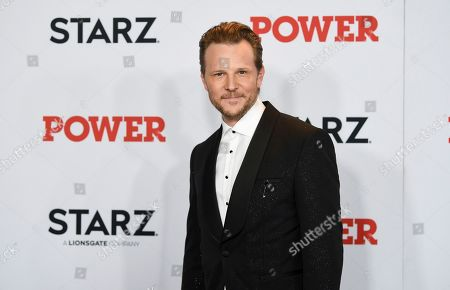 "Shane Johnson attends the world premiere of the Starz television series ""Power"" final season at Madison Square Garden, in New York"