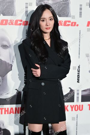 Stock Image of Yang Mi