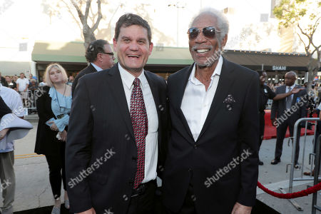 Jason Constantine, President of Acquisitions and Co-Productions, Lionsgate Motion Picture Group, Morgan Freeman