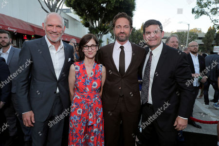 Joe Drake, Lionsgate Motion Picture Group Chairman, Eda Kowan, Executive Vice President, Acquisitions and Co-Productions, Lionsgate Motion Picture Group, Gerard Butler, Jason Constantine, President of Acquisitions and Co-Productions, Lionsgate Motion Picture Group,
