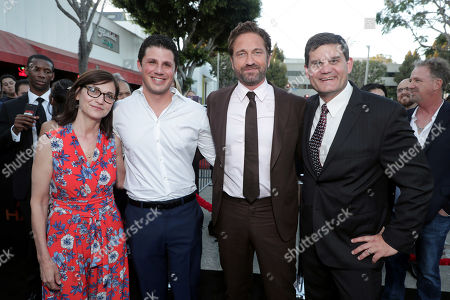 Jonathan Yunger, Executive Producer, Eda Kowan, Executive Vice President, Acquisitions and Co-Productions, Lionsgate Motion Picture Group, Gerard Butler, Jason Constantine, President of Acquisitions and Co-Productions, Lionsgate Motion Picture Group,