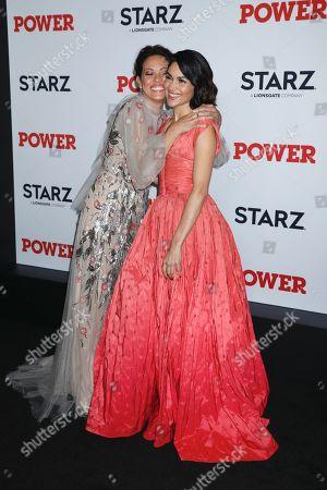 Elizabeth Rodriguez and Lela Loren