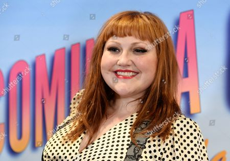 """Stock Picture of Beth Ditto, a cast member in the Showtime series """"On Becoming a God in Central Florida,"""" poses at a screening of the show at the London West Hollywood, in West Hollywood, Calif"""