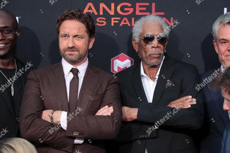 Lance Reddick, Gerard Butler, Morgan Freeman, Danny Huston