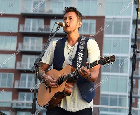Justin Young from the country music band Gone West
