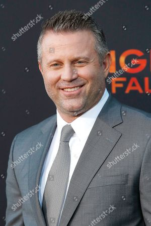 Editorial photo of Premiere of Lionsgate's Angel Has Fallen, Los Angeles, USA - 20 Aug 2019