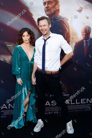 Sophia Del Pizzo and US actor Jimmi Simpson arrive for the premiere of Lionsgate's 'Angel Has Fallen' at the Regency Village Theater in Los Angeles, California, USA, 20 August 2019. The movie opens in US theaters on 23 August 2019.