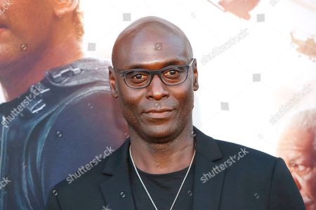 Stock Picture of Lance Reddick arrives for the premiere of Lionsgate's 'Angel Has Fallen' at the Regency Village Theater in Los Angeles, California, USA, 20 August 2019. The movie opens in US theaters on 23 August 2019.