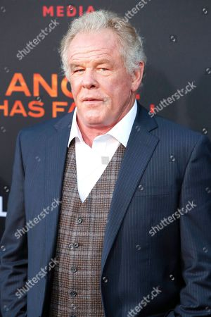 Nick Nolte arrives for the premiere of Lionsgate's 'Angel Has Fallen' at the Regency Village Theater in Los Angeles, California, USA, 20 August 2019. The movie opens in US theaters on 23 August 2019.