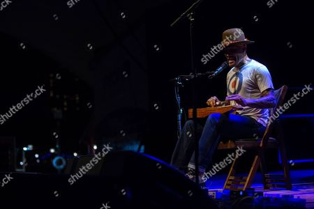 Ben Harper & The Innocent Criminals perform on stage during their co-headlining tour with Trombone Shorty & Orleans Avenue at the MECU Pavilion, in Baltimore
