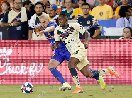 Editorial picture of Club America Tigres Soccer, Houston, USA - 20 Aug 2019