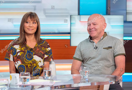 Dominic Littlewood and Anna Ryder Richardson