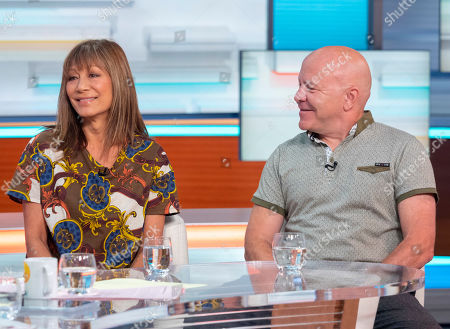 Stock Picture of Dominic Littlewood and Anna Ryder Richardson