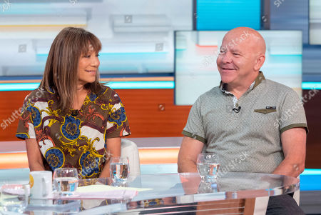 Editorial image of 'Good Morning Britain' TV show, London, UK - 21 Aug 2019
