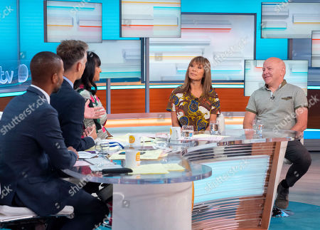 Sean Fletcher, Richard Bacon, Ranvir Singh with Dominic Littlewood and Anna Ryder Richardson
