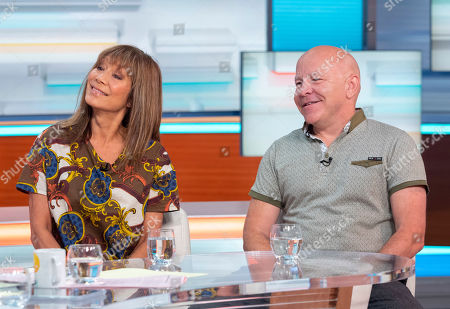 Stock Photo of Dominic Littlewood and Anna Ryder Richardson
