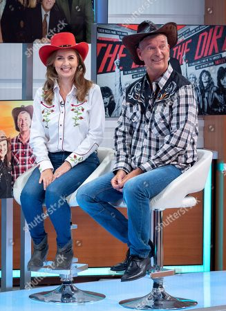 Debra Stephenson and Tony Hawks