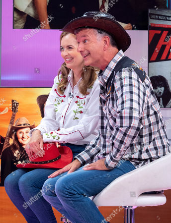 Stock Image of Debra Stephenson and Tony Hawks