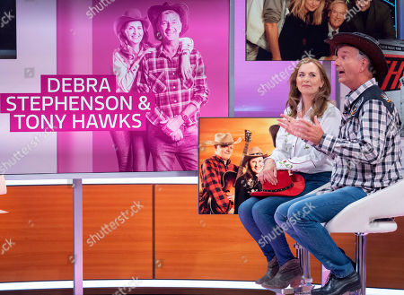Stock Picture of Debra Stephenson and Tony Hawks