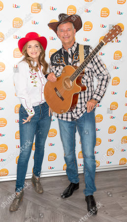 Stock Photo of Debra Stephenson and Tony Hawks