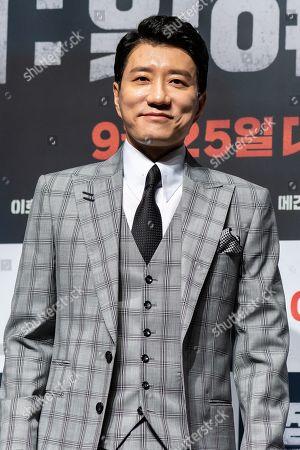 Editorial photo of 'Battle of Jangsari' film press conference, Seoul, South Korea - 21 Aug 2019