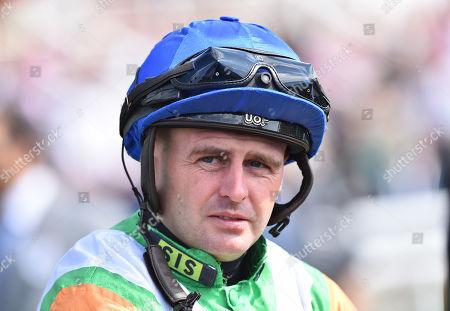 Tony Hamilton, jockey.